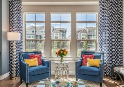 Colorado Living Room - Photo by John Koliopoulos